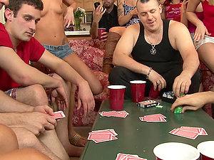 School De-robe Poker With Bailey, Vanessa, Brandi, Rilynn and Maia