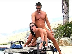 Taylor Rain Is Looking Terrific As She Gets Fucked Hard Outdoors