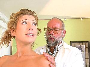 Old Scumbag Doc Fucks Nubile Patient