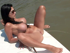 Danube tour with chesty brown-haired honey Aletta