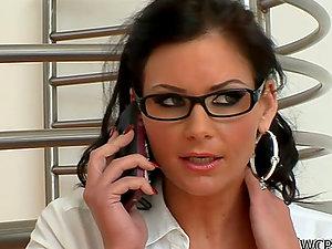 Milky Biz Woman Phoenix Marie Loves it Black in the Booty