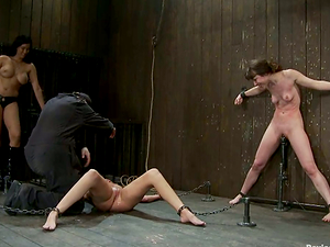 Girl/girl Bondage & discipline Activity with Beautiful Restrain bondage Honies Frolicking