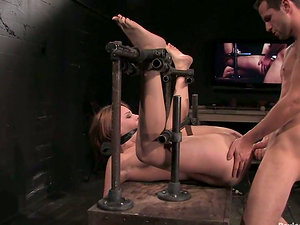 Dana Dearmond gets her bum toyed and fucked by Maestro