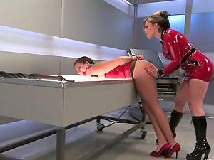 Damsels fantasies get broader, when they have some playthings