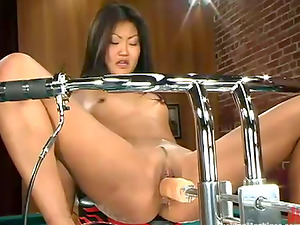 Sexy Asian honey Lucy Lee will never be alone