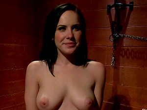 Face Sitting and Playing Katie St Ives in Wild Restrain bondage Lesbo Flick