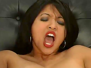 Mika Suntan likes wired on her boobies and a fucktoy in her vag
