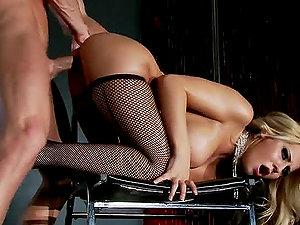 Banging the Hot Pole Dancer Madison Ivy in Crimson Light Burlesque