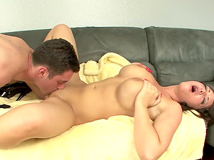 Twat Eating and Titty Fucking Plus a Brilliant BJ by Melina Mason