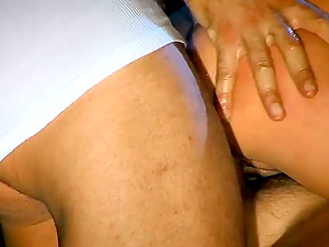 Kathy Campbel shows her oral job abilities and gets sandwiched