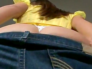 Alanna Ackerman's tits bouns up and down while she rails a jizz-shotgun