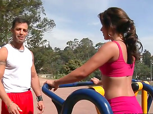 Kinky Keila Surfistinha gives dirty suck off and gets pounded