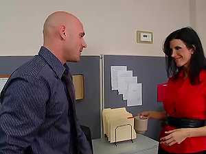 Johnny Sins Does all the Work Around This Office