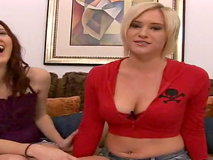 We got a wicked hot threesome movie here featuring a ultra-cute tart wearing a miniskirt before they fuck