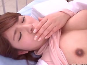 Mischievous Japanese Doc Providing a Oral pleasure and Getting Fucked by Patient