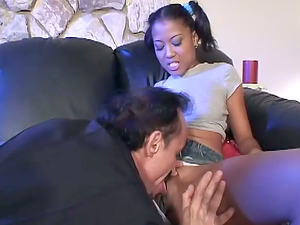 Awesome Hump with Petite Exotic Nubile Lili Thai's Cock-squeezing Vulva