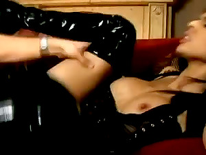 Incredible Curvy Stunner Timid Love Taunting Her Man With Her Big Tits