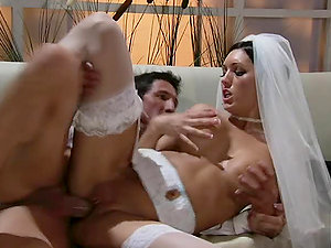 Sexy Bride Dylan Rider Gonzo With Jizm Facial cumshot