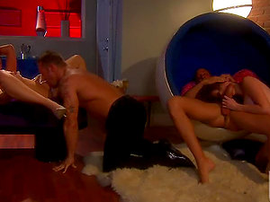 Intense Four-way With AnnaBelle Lee And Nikki Rhodes