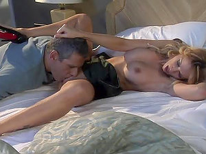 Sexy Big-titted Blonde Hoe Jessica Drake Fucked With Buttfuck Romp