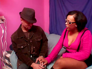 Black Christina Getting Munched In Vagina And Fucked Doggystyle