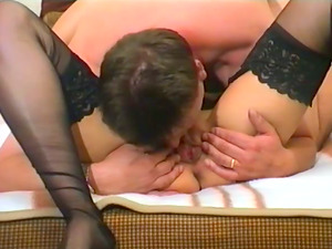 Mature Unexperienced Bi-atch Gives Fellatio And Fucks Missioary Until She Gets Jizz In Mouth