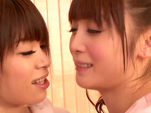Here we Have a Duo of Hairy Asian Girl-on-girl Ladies who Love Fucking