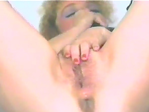 Getting off Is What Makes This Nasty Cougar Horny
