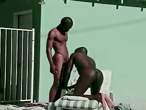 Fag gangsta world with two black faggots