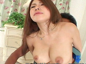 Big tits and a cock-squeezing hairless snatch on this lovely Japanese whore