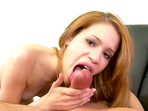 This Super-cute Nubile Shows She Likes to Drink in This Point of view Movie