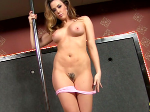 Stripper Fucks Big Black Penis in the VIP Gloryhole