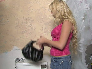 Supah hot blondie is grinding a enormous black dick