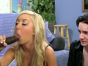 Callie Cobra penalizes her hubby and gets banged by a black stud