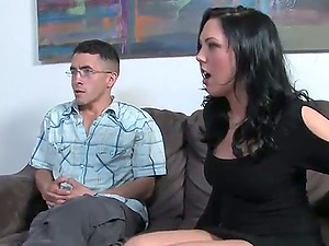 A weeping spouse is the highlight of this reality hotwife flick