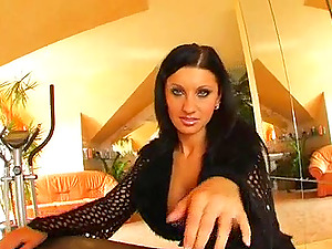 Observe this lovely bitch get her snatch and her taut asshole plowed in this extreme movie