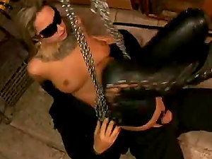 Xxx Restrain bondage Scene With The Hot Blonde Daria Glower