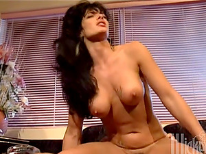 Pornography movie shot in 90s with Ariana the hump doll