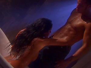 Gorgeous Mikayla Mendez gets fucked prettily in a bathtub
