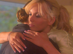 Roxy Deville and Stormy Daniels! SO HOT Lezzie lovemaking! Big Tits and Fucktoys for Cougars!