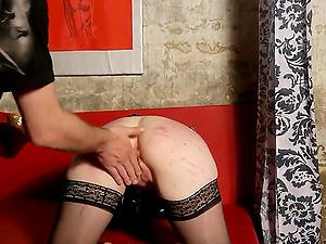 A very nasty going knuckle deep and Bondage & discipline porno flick