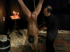 Kinky Domination & submission Tourtue Joy in a Dark Basement