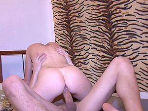 Horny Unexperienced Duo Hooking Up on in Their Bedroom