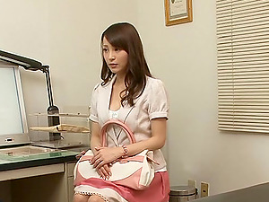 Japanese stunner is ravaged by her horny gynecologist