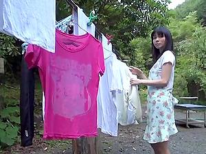 Japanese Superstar Emiko Gets Fucked in Her Closet