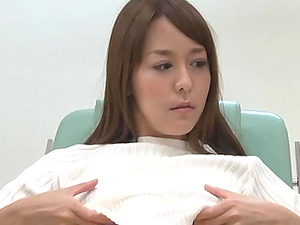 Asian stunner gets seduced and fucked by a dirty gynecologist