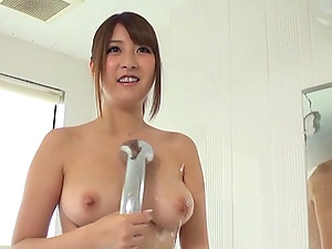 Sexy Asian Lezzies Get Nasty In The Douche