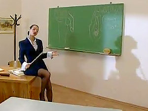 Chesty stringent educator Michelle Wild having hard-core hookup