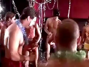 Hot Queer Guys Dancing in a Club