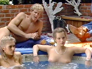 Feisty Cougars With Lengthy Hair getting Hammered Xxx By The Pool